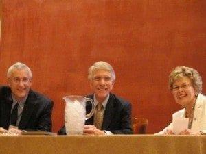 Research Presentation John Oldham introds Jim Payne and Diane Hall