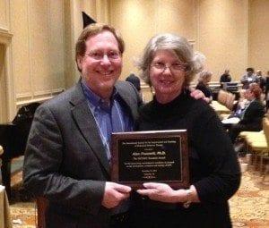 Alan Fruzzetti, Ph.D. wins the Outstanding Researcher Award