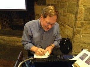 Book signing AEF