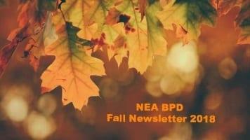 NEABPD Fall Newsletter 2018 – Message From the President