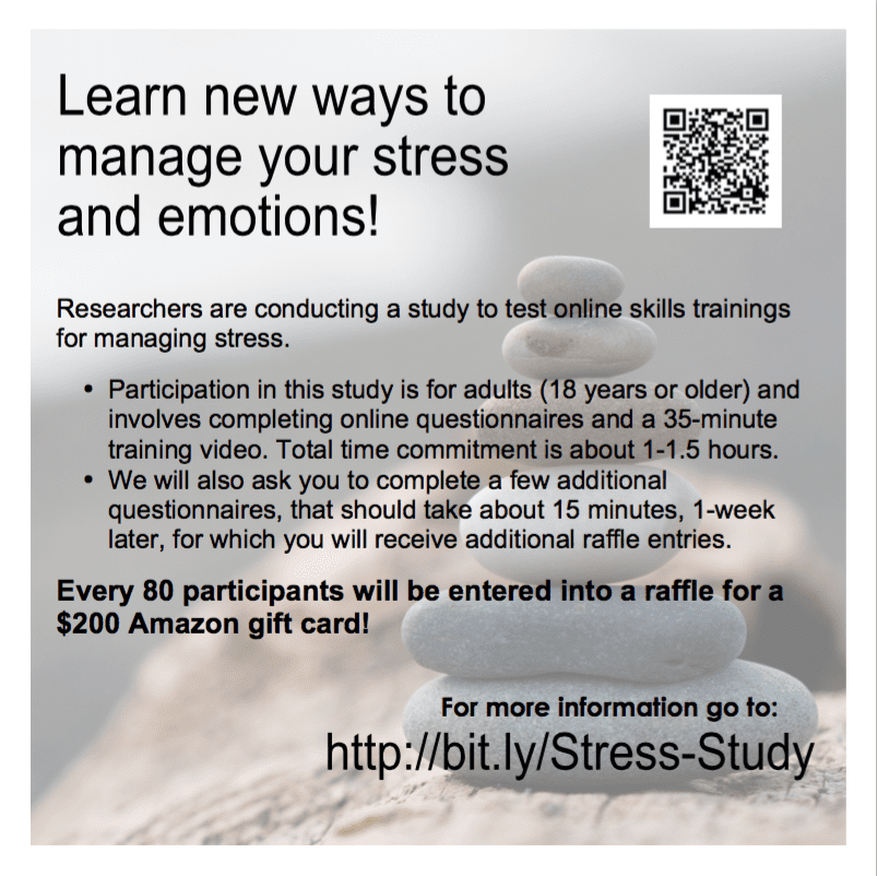 Study by the University of Nevada to better understand the